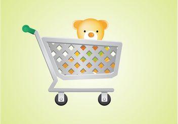 Vector Shopping Cart - Free vector #150305
