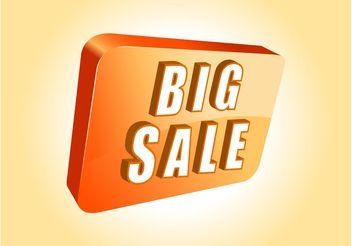 Sale Banner Vector - Free vector #150385