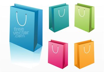 Shopping Bags - vector gratuit #150515