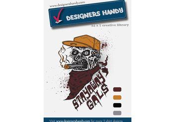 T-shirt Design Vector - Free vector #151245