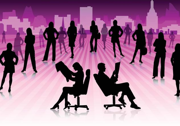 Business People - Free vector #151435