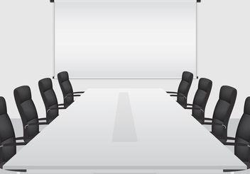 Boardroom Vector - Free vector #151895