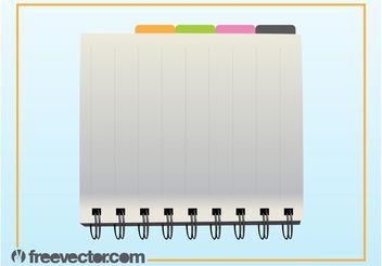 Organizer Vector - vector #152155 gratis