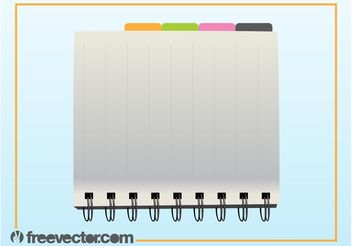 Organizer Vector - Free vector #152155