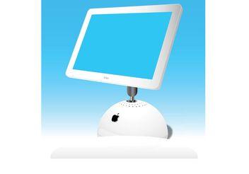 iMac Vector - Free vector #152365