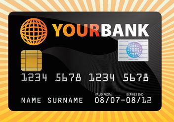 Free Credit Card Vector - Free vector #152395