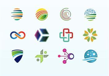 Logo Element Mix - Free vector #152505