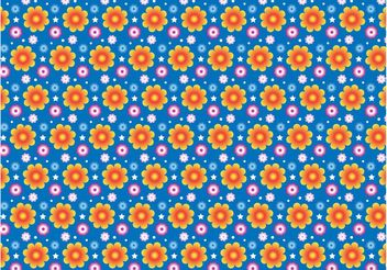 Summer Flowers Pattern - бесплатный vector #152665