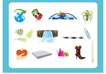 Graphic Variety Mix - vector #153195 gratis