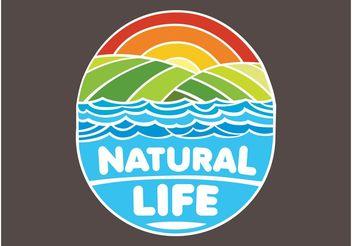 Nature Logo - Free vector #153415
