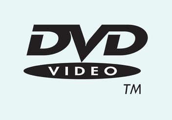 DVD-Video - vector #154185 gratis