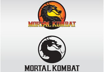 Mortal Kombat Logos - Free vector #154215