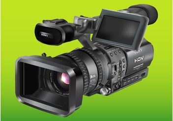Sony Camera - vector #154265 gratis
