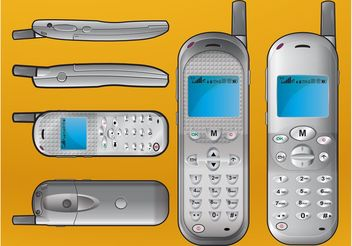 Mobile Phone Images - vector #154365 gratis