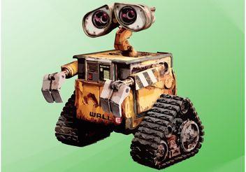 WALL-E - vector gratuit #154375