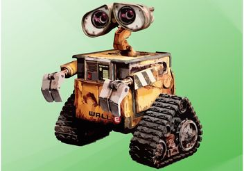 WALL-E - Free vector #154375