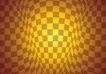 Checker Board Warp Abstract Background - vector gratuit(e) #154425