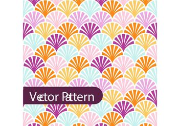 Colorful Pattern Design Vector - vector gratuit #154445