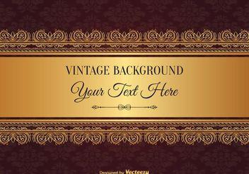 Elegant Vintage Style Background - Free vector #154585