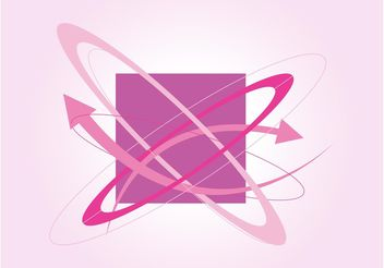 Abstract Vector Graphics Element - Free vector #154615