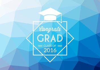 Free Abstract Graduation Vector Background - Kostenloses vector #154805
