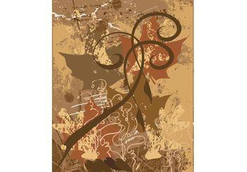 Grunge Doodles Background - Free vector #154905