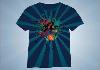 T-Shirt Design - Free vector #155055