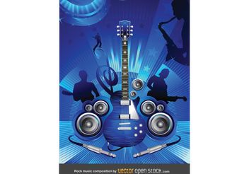 Free Rock Concert Vector - бесплатный vector #155865