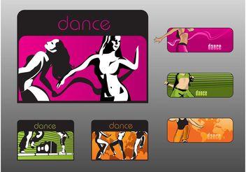 Dancing Banners - Free vector #155885
