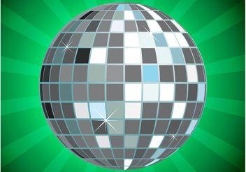 Glitter Ball Vector - Free vector #155985