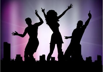 Vector Party People - Free vector #156335