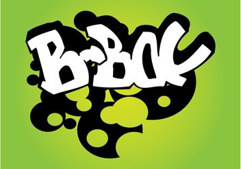 B-Boy Graffiti - vector #156395 gratis