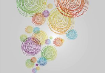 Colorful Doodles - Free vector #156695