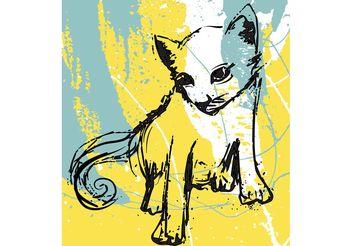 Free Cat Vector - Kostenloses vector #156755