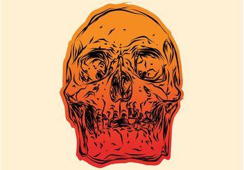 Gradient Skull - Kostenloses vector #156855