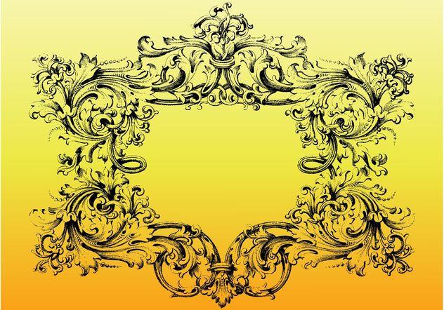 Leaves Frame - Free vector #157085