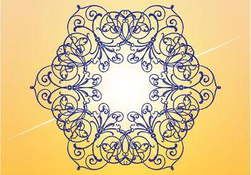 Floral Lines - Kostenloses vector #157095
