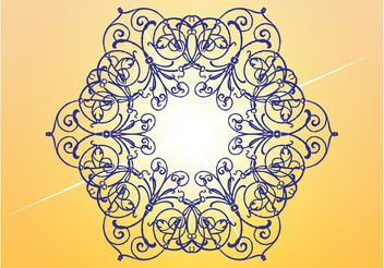 Floral Lines - vector #157095 gratis