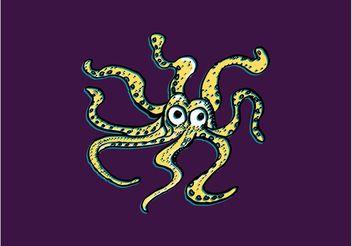 Octopus Doodle - Kostenloses vector #157485