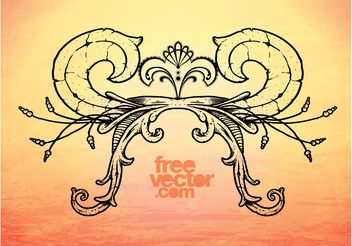 Decorative Drawing - vector gratuit #157515
