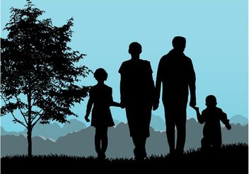 Family Graphics - vector gratuit #157905