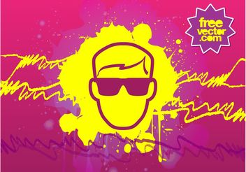 Man With Sunglasses - vector #158125 gratis
