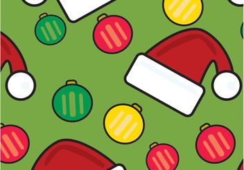 Christmas Pattern - Free vector #158415