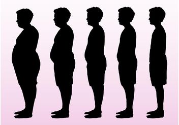 Body Types Vector - Free vector #158605