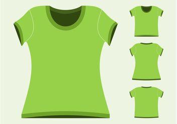 T-Shirts Vectors - Free vector #159105