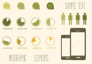 Free Vector Elements of Infographics - Free vector #159385