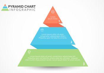 Free Flat Pyramid Chart Vector Design - Free vector #159465