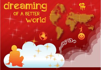 Better World Vector - vector #159715 gratis