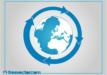 Earth Vector Icon - Kostenloses vector #159825
