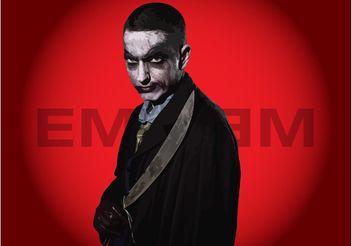 Eminem Joker - Free vector #160385